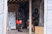 В Плеханово начали сносить дома в цыганском таборе, Фото: 82