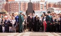 Открытие монумента и бронепоезда на Московском вокзале. 8 мая 2015 года, Фото: 37