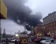 Пожар на хладокомбинате в соцсетях, Фото: 6