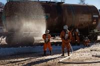 Учения МЧС на железной дороге. 18.02.2015, Фото: 29