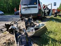 В серьезном ДТП под Тулой пострадали шесть человек, Фото: 1