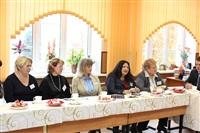 Встреча губернатора с учителями 11 гимназии, Фото: 7