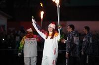 Третий этап эстафеты олимпийского огня: проспект Ленина, Фото: 62