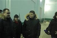 Владимир Груздев в Дубенском районе. 30 января 2014, Фото: 2