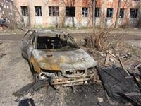 Сгоревшие сараи на улице Немцова в Туле, Фото: 10