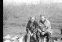 Игорь Шуенков и завуч школы Свистунова Т. Д. середина 80х, Фото: 19
