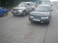 На Новомосковском шоссе столкнулись три автомобиля, Фото: 5