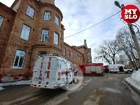 В Петелинской психиатрической больнице произошел пожар, Фото: 1