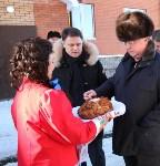 Владимир Груздев и руководители Фонда содействия реформированию ЖКХ в Кимовске , Фото: 3