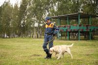 Испытания кинологов в Тульском спасательном центре, Фото: 51