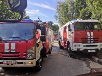При пожаре на ул. Серебровской в Туле погибли три человека, Фото: 1