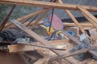 В Плеханово начали сносить дома в цыганском таборе, Фото: 49