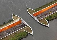 Водный мост Veluwemeer, Нидерланды, Фото: 1