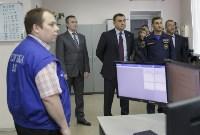 Алексей Дюмин посетил Главное управление МЧС России по Тульской области , Фото: 6