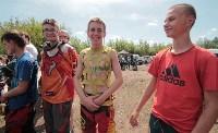 Юные мотоциклисты соревновались в мотокроссе в Новомосковске, Фото: 78