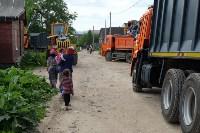 В Плеханово начали сносить дома в цыганском таборе, Фото: 163