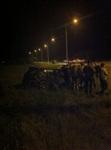 Авария на ночных гонках, Фото: 2