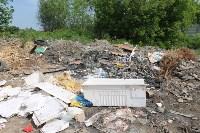 В тульском Заречье жители год добиваются ликвидации ядовитой свалки, Фото: 1