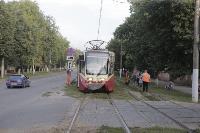 Авария с трамваем на ул. Металлургов, Фото: 12