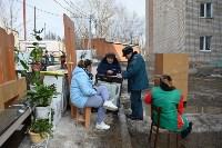 У дома, поврежденного взрывом в Ясногорске, демонтировали опасный угол стены, Фото: 5