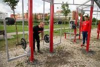 В Туле на набережной Упы открылась уникальная спортплощадка для занятий фитнесом и бодибилдингом, Фото: 11