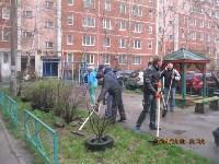 Субботник во дворе дома №19 по ул. Кирова, Фото: 8
