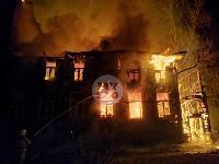 Крупный ночной пожар в Туле, Фото: 1