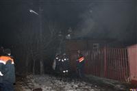 В поселке Октябрьский сгорел дом., Фото: 1