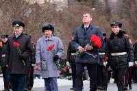 Церемония возложения цветов на площади Победы, 23.02.2016, Фото: 31