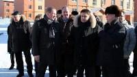 Владимир Груздев и руководители Фонда содействия реформированию ЖКХ в Кимовске , Фото: 16