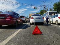 В Туле столкнулись броневик и внедорожник Lexus, Фото: 5