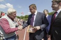 Открытие стадиона в Новомосковске, Фото: 2