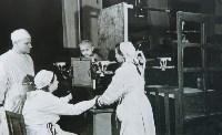 Рентгеновский кабинет детского терапевтического отделения, 1950-е годы., Фото: 17