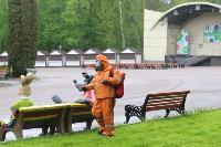 Тульские спасатели продезинфицировали Центральный парк, Фото: 9