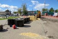 В посёлке Южный стартовали работы по обустройству ливневой канализации, Фото: 1