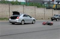 На Косой Горе сбили скутериста, Фото: 1