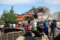 Демонтаж незаконных цыганских домов в Плеханово и Хрущево, Фото: 86