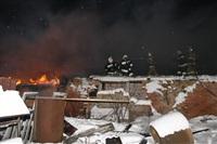 В пос. Менделеевский сгорел частный дом., Фото: 5