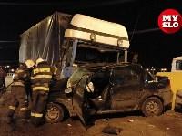 Столкновение Renault и грузовика, Фото: 4