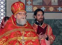 Пасхальная служба в Успенском соборе. 20.04.2014, Фото: 45