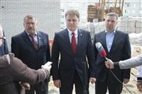 Владимир Груздев проинспектировал строительство жилья в Кимовске и в Донском, Фото: 9