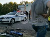 В Тульской области фура влетела в автобус: перекрыта трасса М-2, Фото: 13
