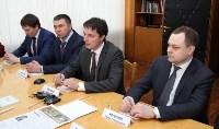 Врио губернатора Тульской области Алексей Дюмин посетил Алексинский химкомбинат, Фото: 5