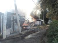 В Киреевске сгорели 40 сараев, Фото: 2