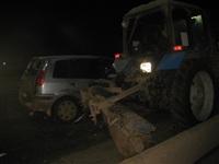 В центре Тулы легковушка врезалась в трактор коммунальщиков, Фото: 2
