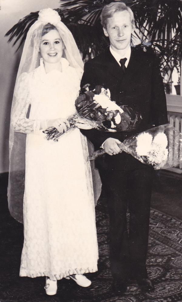 Мои мама и папа. Молодые и любимые.