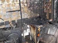 На ул. Ложевой в Туле сгорела квартира., Фото: 5
