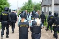 В Плеханово начали сносить дома в цыганском таборе, Фото: 6