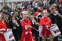 По праздничной Туле прошли духовые оркестры, Фото: 22