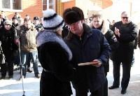 Владимир Груздев и руководители Фонда содействия реформированию ЖКХ в Кимовске , Фото: 6